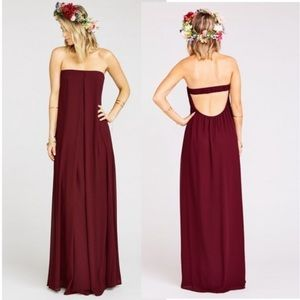 Show Me Your Mumu Sirene Maxi Dress size M